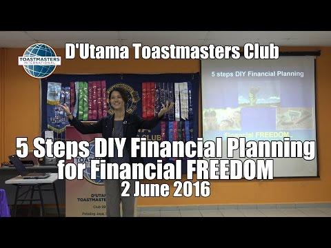 5 Steps DIY Financial Planning For Financial FREEDOM