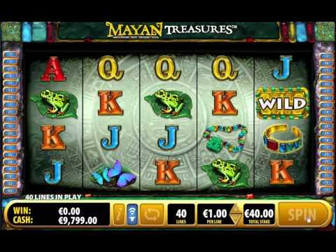 Mayan Treasures Slot - Bally online Casino games