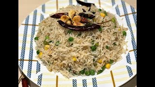 Butter Garlic Rice | Burnt Garlic Vegetable Fried Rice | How To Make Butter Garlic Fried Rice
