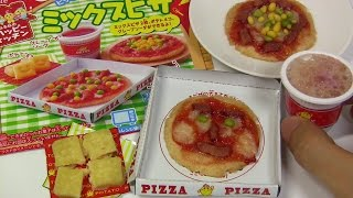 "Kracie Happy Kitchen ""mix Pizza"" Diy Candy ~ ミックスピザ 知育菓子"