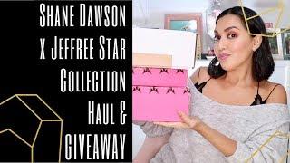Shane Dawson x Jeffree Star Collection Haul & Giveaway