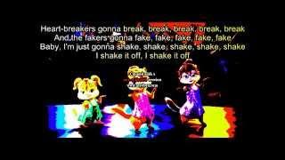 the chipettes shake it off lyrics