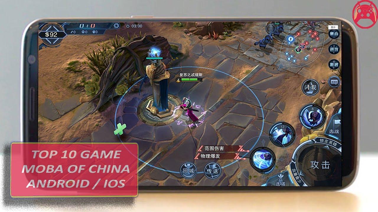 Top 10 Game Moba Đài Loan, Trung Quốc Trên Di Động Android/IOS (Moba  Taiwan, China)