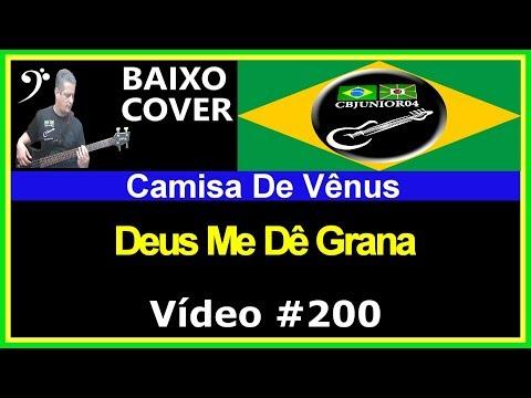 Camisa de Vênus - Deus Me Dê Grana (no BAIXO com Tablatura) bass cover tab