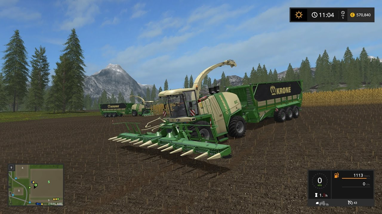 FS17 Krone Trailer Mod (Large Capacity)