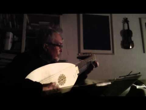 """Losy: Prelude and Aria (aka """"Caro mio ben"""") (ms. PL-Kj40260)"""