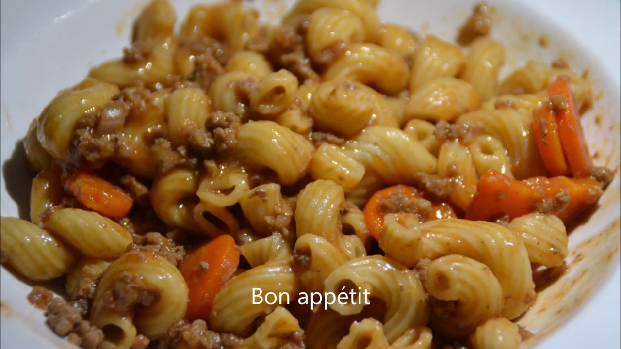 Recette cookeo one pot pasta bolognaise youtube - Recette de noel au cookeo ...