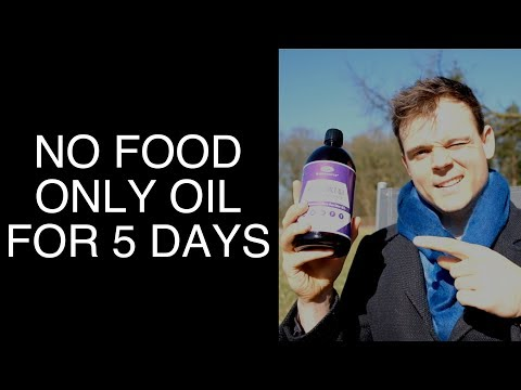 No food, only MCT oil for 5 days [Experiment]