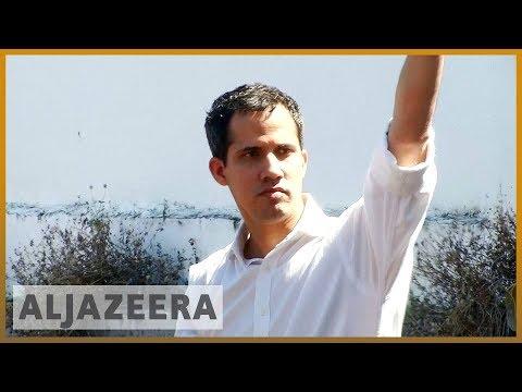 🇻🇪 Venezuela opposition leader Juan Guaido briefly detained l Al Jazeera English