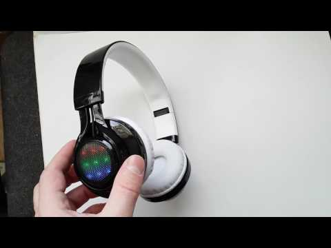 Беспроводные Bluetooth наушники с подсветкой Yongle AB-005