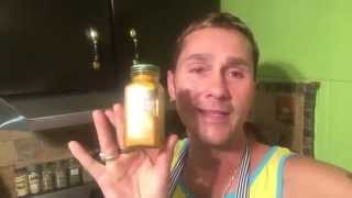 How To make Golden Milk & Turmeric Paste - In The Kitchen With Spiritman