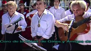 MISA DE ROMEROS ROCIO 2012- CORO Y AMIGOS DE GINES -Buen Cristiano