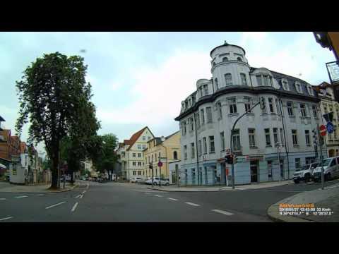 D: Stadt Zwickau. Landkreis Zwickau. Fahrt durch die Stadt. Mai 2016