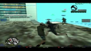 San Andreas Multiplayer SA-MP 0.3e || Clan War || [verS] vs [FC] || base 60att