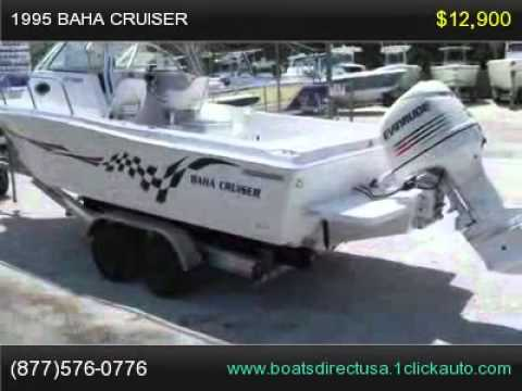 1995 Baha Cruiser Boat, Boat For Sale Florida
