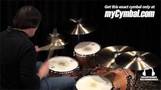 "Sabian 18"" AA Raw Bell Crash Cymbal (2180772-1012314O)"