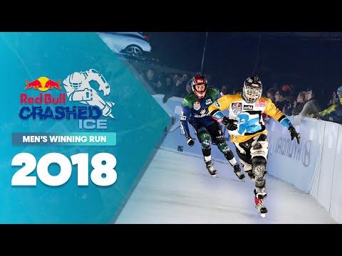 Who won Red Bull Crashed Ice 2018 Canada - Men's Winning Run.
