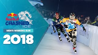 Who won Red Bull Crashed Ice 2018 Canada - Men's Winning Run.