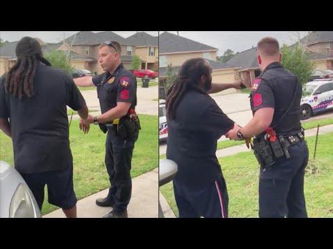 Deputy Mistakenly Tries to Arrest Man in His Own Yard
