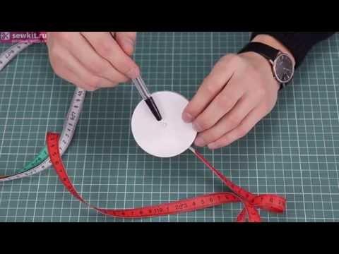 Сантиметр-рулетка биометрический ALFA