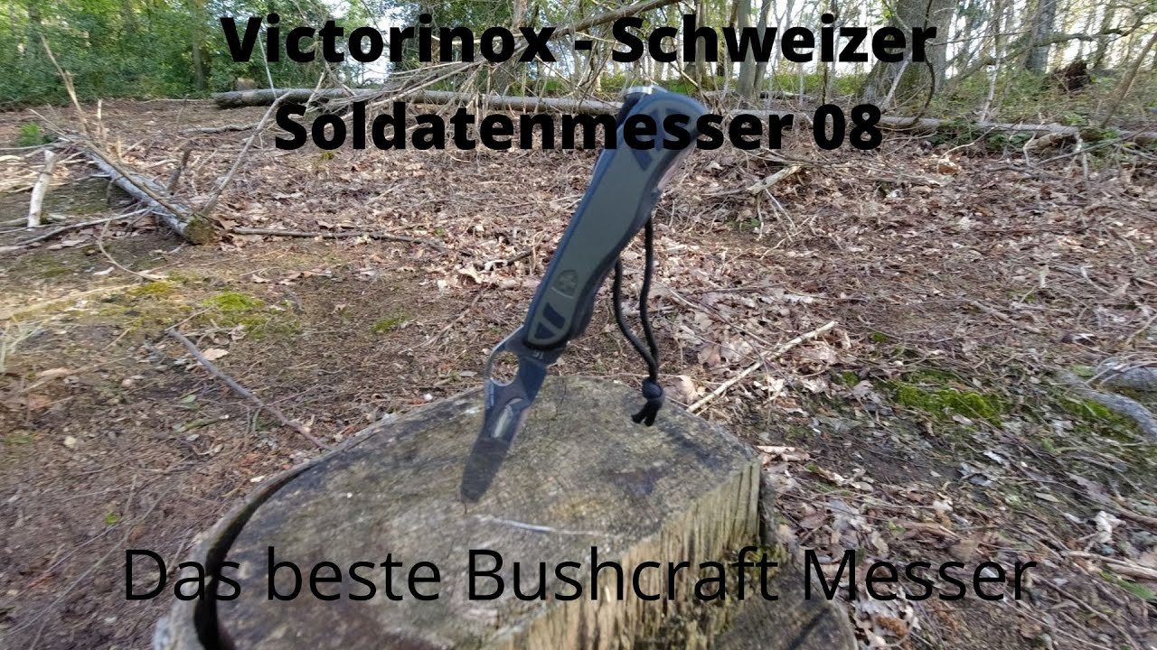 Victorinox Soldatenmesser 08 — Das beste Bushcraft Taschenmesser.