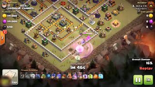 Max Barbarian Max Archer Impossible Destroy 3 star Th12 - Clash Of Clans
