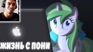 Жизнь с Пони Аниматором / Living With a Pony Animator - Реакция