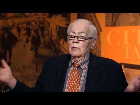 "City Talk: Jimmy Breslin, author, ""Branch Rickey"""