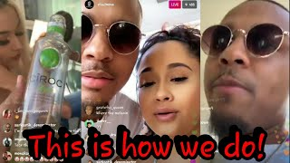 Shadmoss Bow Wow After Angela Simmons Didn't  Respond Showing Us How To Live Our Best LIFE