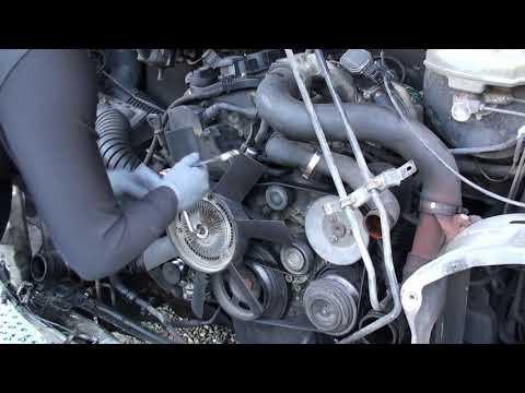 ZIMALETA How To Remove a Fan on T1N Mercedes Sprinter