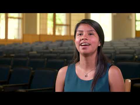 One Scholar, One Day: Jackie Valles '19