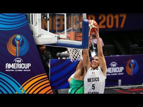 Mexico v Brazil - Full Game - FIBA AmeriCup 2017
