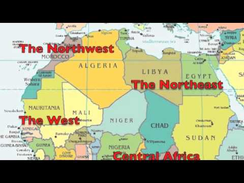 Learn Africa Geography Rap Song-Africa 53-with Fluency MC