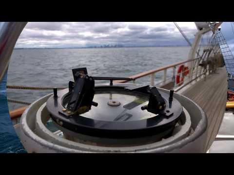 Sailing on Tall Ship Tenacious - Port Philip Bay, Melbourne, Australia