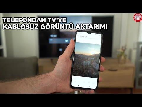 Telefondan TV'ye Kablosuz Görüntü Aktarma - Nasıl Yapılır?