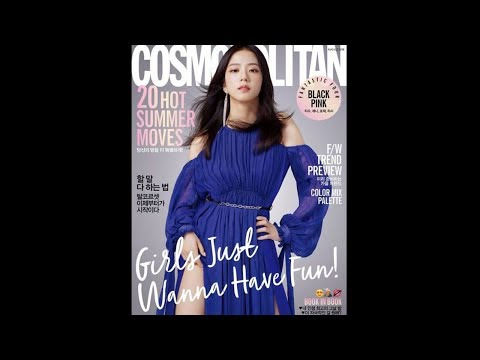 [July 17, 2018] BLACKPINK Members for Cosmopolitan Korea Magazine August 2018 Issue