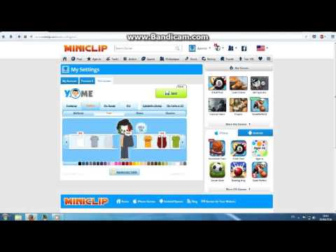 this video how you edit your avatar at miniclip