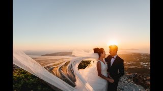 Свадьба Елены и Алексея, Санторини, 7 07 2017