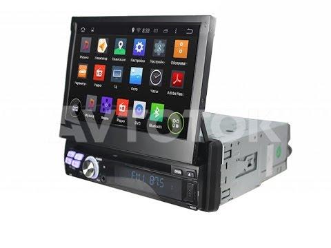 Универсальная 1DIN магнитола C выдвижным экраном KD-8600А