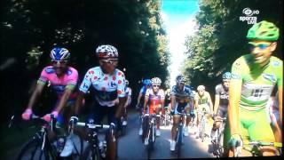 Peter Sagan learns Nairo Quintana to jump Tour de France 2013