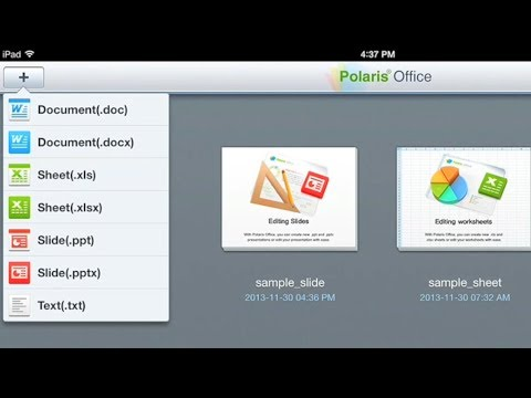 Polaris Office On IOS: View And Edit MS Office Documents On IPad / IPhone