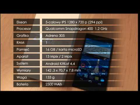 ZTE BLADE VEC 4G - wideorecenzja PL
