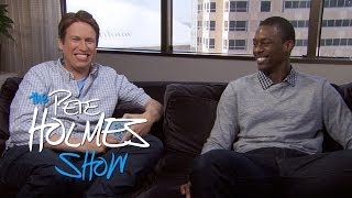 Pete Hangs With Harrison Barnes of The Golden State Warriors