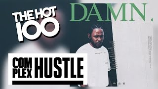 Kendrick Lamar's 'DAMN.' Has Every Track On The Billboard Hot 100
