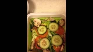 Healthy living: Lunch Salad; smoked salmon Thumbnail