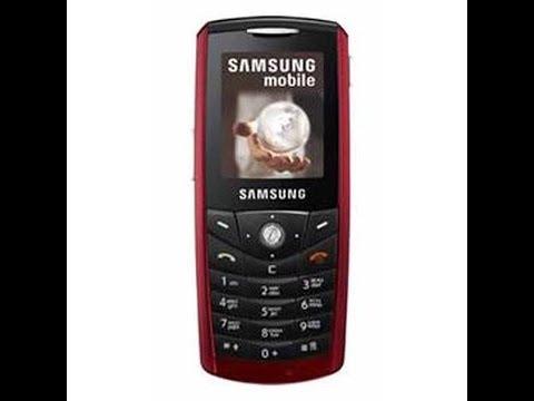 Обзор телефона Samsung SGH-E200