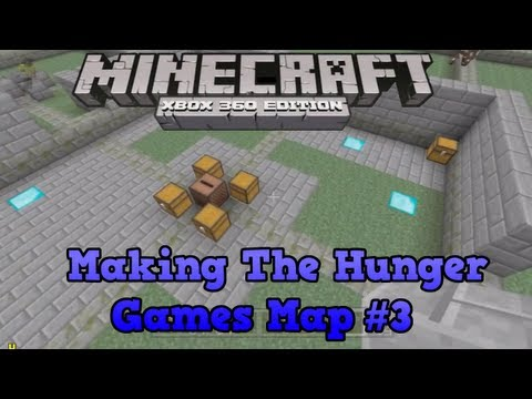Minecraft Xbox 360 Creative #3   Hunger Games Creation   The Obsidian Tower