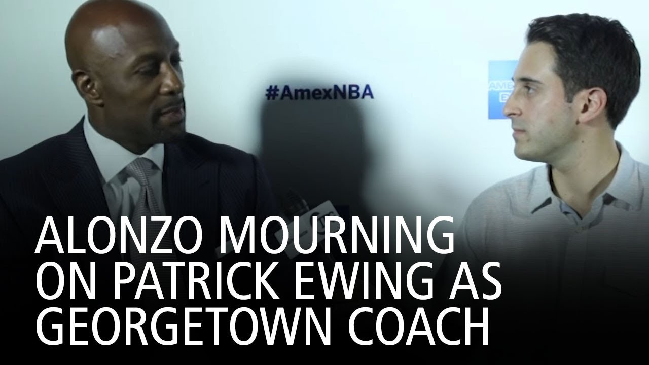 Alonzo Mourning Patrick Ewing As Geor own Coach