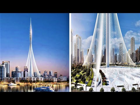 Dubai Builds World's Tallest Tower: 1300m+ Dubai Creek Tower