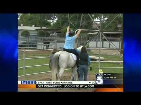 Dream Catchers Therapeutic Riding Dream Catcher of LA Therapeutic Riding Center on KTLA Sports News 34